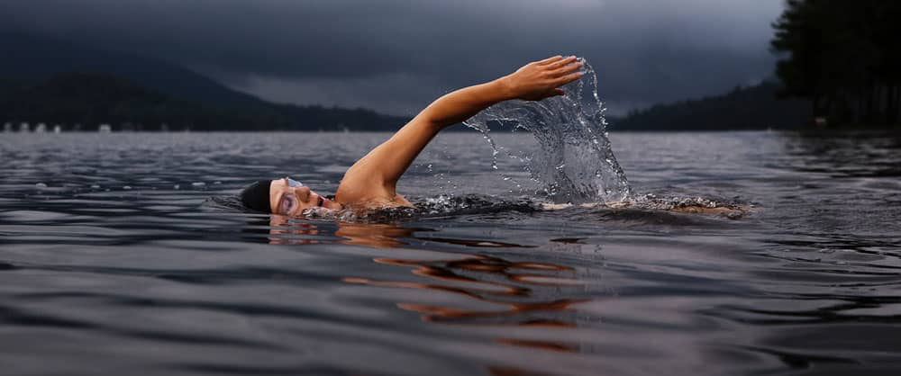 Våddragt til havsvømning